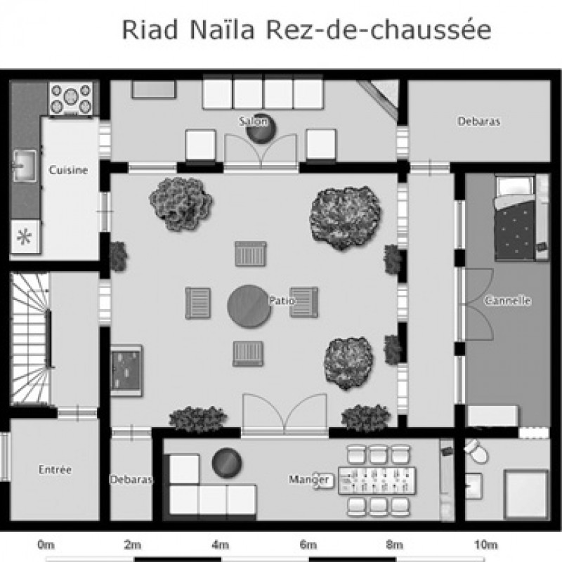 riad_naila_ground_floor2-800x800 Bedrooms